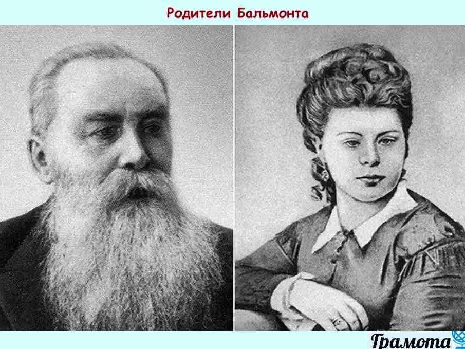 Константин Бальмонт. Биография для школьников